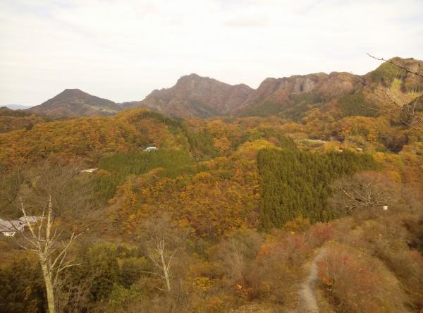 『つつじが丘から 男体山』の画像