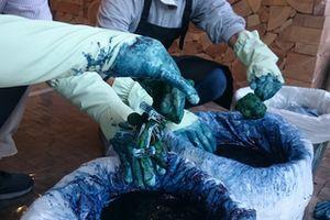 『藍染め体験2』の画像