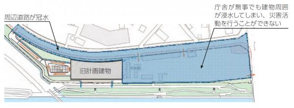 図2 現計画の平面図