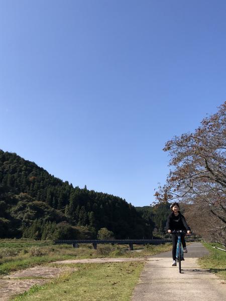 サイクリング風景