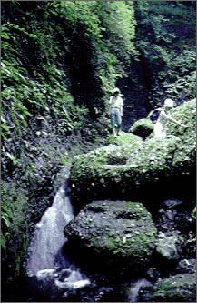 湯沢峡・谷登り